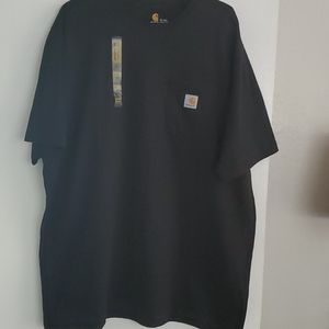 NWT Carhartt mens black classic fit t-shirt